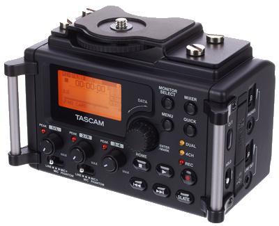 TASCAM DR-60D Linear PCM Recorder